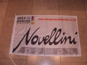 Novellini will be provided with images of their flag flying in the Arctic!